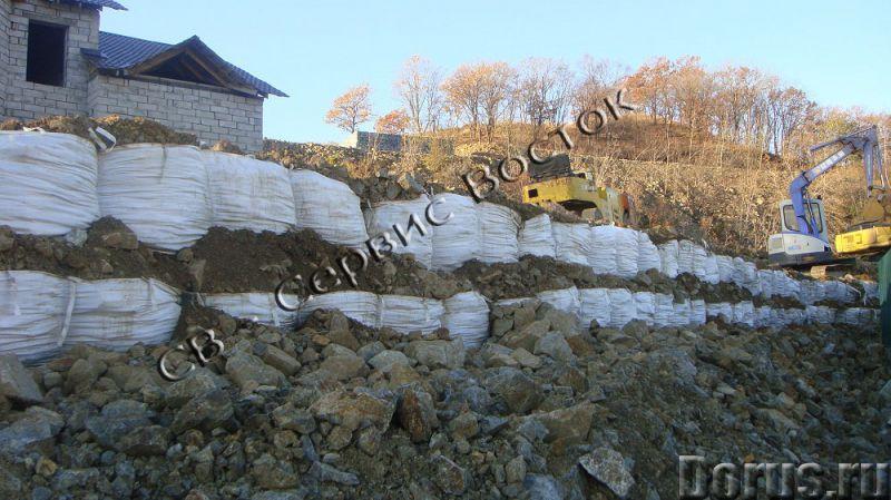 Новые технологии в грунтоукреплении - Материалы для строительства - Конструкции из геосинтетического..., фото 4